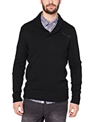 s.Oliver - Pull - Col châle - Manches longues Homme