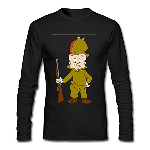 herrens-elmer-fudd-long-sleeve-cotton-t-shirt-xxx-large