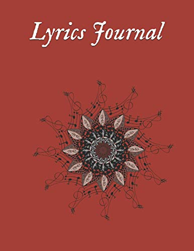 Lyrics Journal: Songwriters Journal | Lyrics Notebook | College Rule Lined Writing and Notes Journal | Rhyme Book Rap Journal | Songwriting Book ... Music Lovers, Students | Song Writing Journal