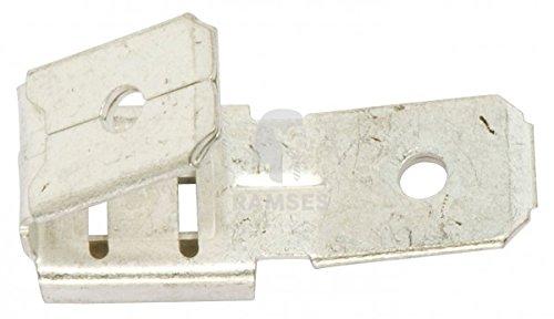 Preisvergleich Produktbild KIESUNDCO Steckverteiler unisoliert 6,6 x 0,8 mm 100 Stück