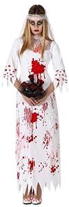 Atosa 14929 Disfraz novia sangriento adulto XL, talla mujer