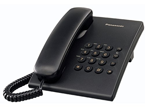 Panasonic KX-TS500EXB - Teléfono fijo analógico