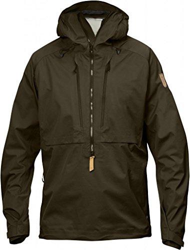 keb-fjllrven-eco-shell-giacca-a-vento-di-colore-verde-oliva-scuro