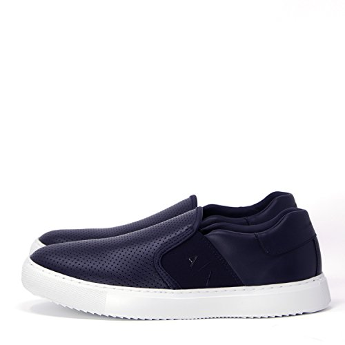 ARMANI EXCHANGE HERREN SCHUHE SNEAKER SLIP ON 955058 8P466 42.5 blau