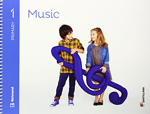 MUSIC 1 PRIMARY STUDENT'S BOOK + CD - 9788468087641 por Aa.Vv.