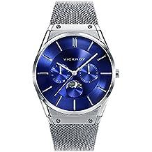 Reloj Viceroy Caballero 42245-37 Fase Lunar Malla Milanesa