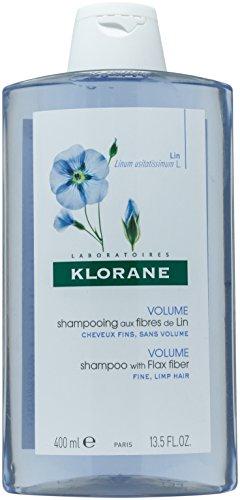 Klorane Shampoo with Flax Fiber - hair shampoos (Women, Non-professional, Shampoo, Volumizing, EATER(AQUA). SODIUM LAURETH SULFATE. SODIUM COCOAMPHOACETATE. CETEARETH-60 MYRISTYL GLYCOL. SODIUM L, Apply to wet hair. Work into a lather and then rinse.)