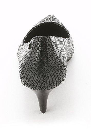 Calvin Klein, Scarpe col tacco donna Black Python