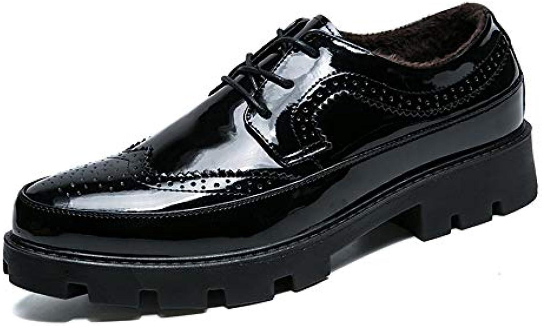 Xujw-scarpe, 2018 Scarpe Stringate Basse Scarpe Oxford Oxford Oxford da Uomo da Lavoro, Scarpe Classiche da Trekking con Tacco... | Molti stili  | Gentiluomo/Signora Scarpa  c4a217