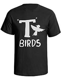 Buzz Shirts T-Birds Grease Fancy Dress Mens Fit T-Shirt