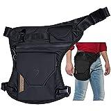 Carbonado Vector Unisex Waist Bag | Multipurpose Utility Cross Body Bag | Water Repellent | Strap to Leg or Hip | for Travel,