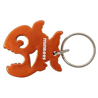 Munkees Bottle Opener Pyranha 3478, Orange