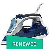 (Renewed) Morphy Richards Super Glide 2000-Watt Steam Iron (White/Blue)