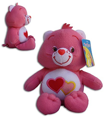 Lieb-mich-Bärchi 34/42cm Super Weich Bär Die Glücksbärchis Care Bears Love Rot Bär Teddybär Plüschtier (Bears Care Die)