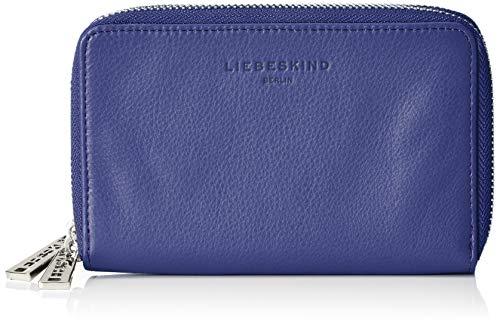 Blau Geldbörse (Liebeskind Berlin Damen Cosophih8 Vintag Geldbörse, Blau (Deep Blue), 3x11x17 cm)