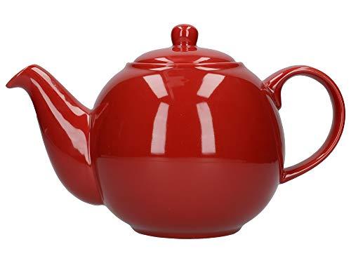 London Pottery Théière 6 tasses Rouge