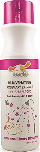 Nootie Japanese Cherry Blossom Rejuvenating with Rosemary Extract Pet Shampoo, 16oz