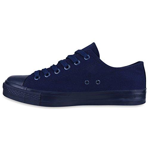 Herren Sneakers | Freizeitschuhe Sportschuhe | Schnürer Stoffschuhe |Fitness Streetstyle | viele Farben Dunkelblau Navy