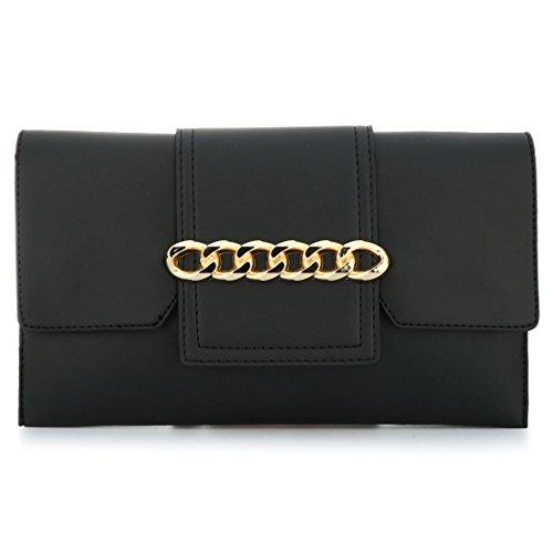 YYW wristlet bag, Borsetta da polso donna Black