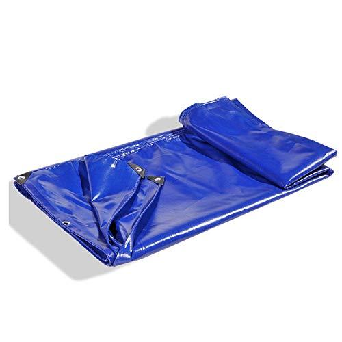 MAGFYLY Gartenmöbel Abdeckung,Schutzhülle Abdeckplane Robuste Regenplane, Blaue wasserdichte PVC-Außenplane - Für Campingzelte, Wohnmobile, Pools, Dächer, UV-Schutz-Sonnenschutzdepots (Size : 3mx4m)
