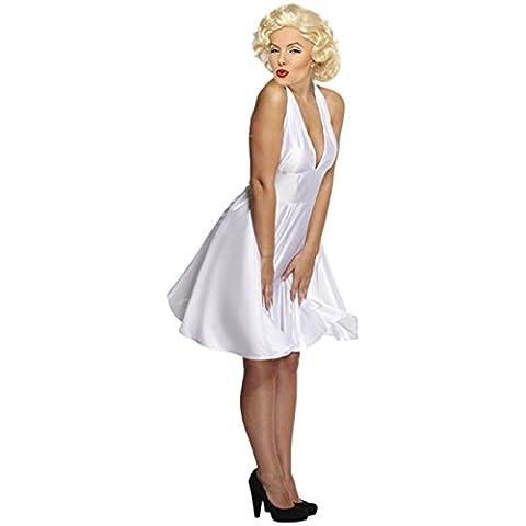 Perücke + Kleid Marilyn Gr. 38-42 VIP für Party Monroe Fans Karneval Marylin