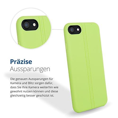 iPhone 7 rosa Schutzhülle iphone rosa farbverlauf Case viele verschiedene Farben (iPhone 7, Farbverlauf rosa) grün