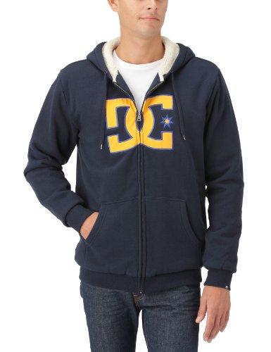 DC Shoes Herren Fleece Sweatshirt Tangle, dc Navy, M, D053860120-DN1D