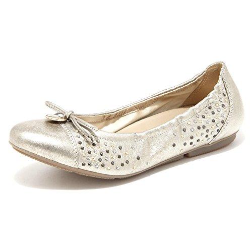 86560 ballerina HOGAN WRAP 144 CHARM BORCHIE scarpa donna shoes women [37.5]