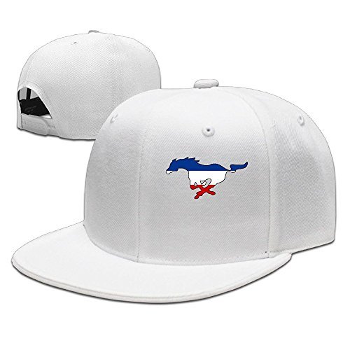 hittings ssee Unisex Adult Ford Mustang FLAT Bill Summer Visor Cap Natural White
