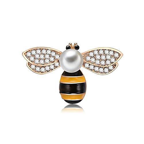 Meigold 1 * Brosche Insekt Brosche Ameise Biene Käfer Brosche männliche und weibliche Brosche Kleidung Zubehör