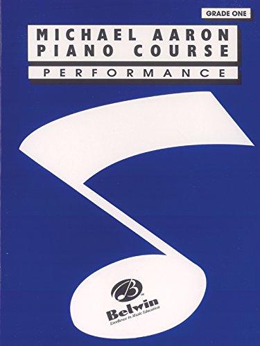 Michael Aaron Piano Course: Performance Grade 1