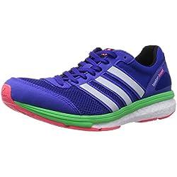 adidas Zapatillas Adizero Boston 5 Woman Azul/Verde EU 38 2/3