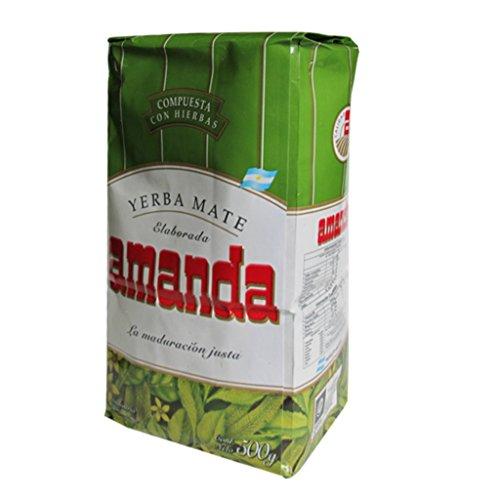 Yerba mate Amanda Compuesta hierbas