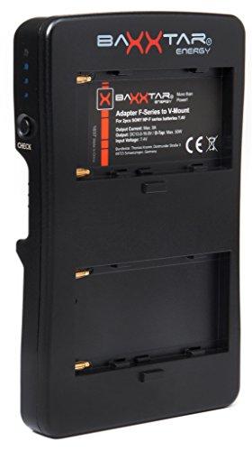 Baxxtar Adaptador V-Mount 2 Canales Serie Sony NP-F