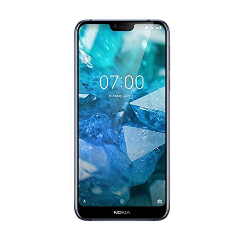 "Nokia 7.1 - Smartphone de 5.84"" (Qualcomm Snapdragon 636 1.8 GHz, RAM de 3 GB, Memoria de 32 GB, cámara Dual de 12+5 MP, Android 8.0) Color Azul"