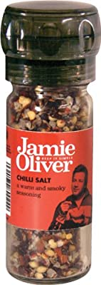 Jamie Oliver Chilli Salt Grinder by Fiddes Payne