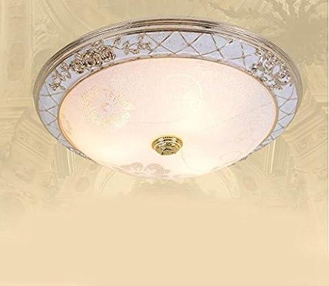 Jingzou Chambre led plafond verre Etude balcon Eclairage 30CM