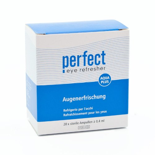 Perfect, Aqua Plus Augenerfrischung - 20x 0,33ml
