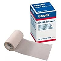 Gazofix Fixierbinde 10 cmx4 m Hautfarben, 1 St preisvergleich bei billige-tabletten.eu
