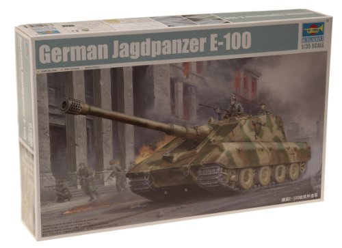 Trumpeter 01596 Modellbausatz German StuG E-100