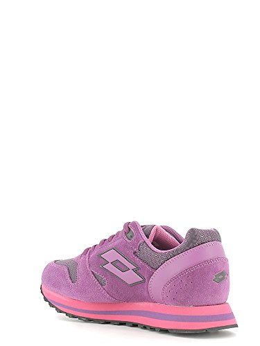 Lotto Trainer Viii NY W, Chaussures de Sport Femme Rose - Rosa (Tropea / Pnk Cnd)