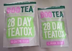 BOOTEA TEATOX Cure de 28 Jours (Daytime & Bedtime)