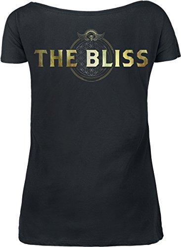 Volbeat Bliss Girl-Shirt Schwarz Schwarz