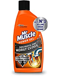 Mr Muscle Power Gel Drain Unblocker, 500 ml