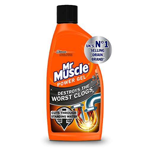 Mr Muscle Power Gel Drain Unblocker, 500 ml, Pack of 2