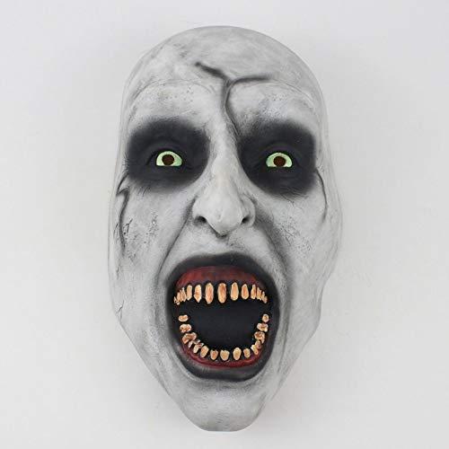 Beängstigend Latex Masken Mit Kopftuch Voller Gesicht Helm Halloween Party Requisiten ()