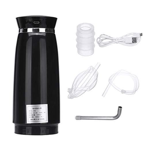 KUNSE 5V 5W Consumo Automático Eléctrico Botella Bomba Dispensador De Agua para El Hogar Oficina-Negro