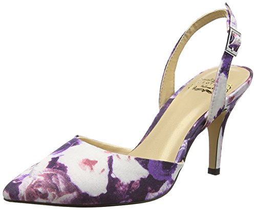 Lotus - Bridgitte, Decolleté aperte sul retro con tacco Donna Viola (Viola (Purple))