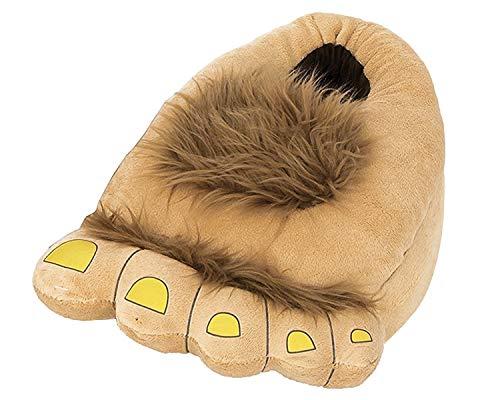Minetom Unisex Herbst Winter Tierhausschuhe Plüsch Hausschuhe Pantoffeln Kostüme Warme Puschen ( Bigfoot M ( EU 35-38 ) )