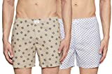 Diverse Men's Opaque Printed Boxers (Pack of 2) (DCMBS01SC08L03-42_Multicolor_Large)